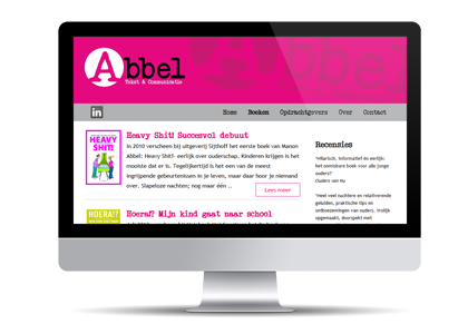 Abbel tekst en communicatie online met nieuwe website