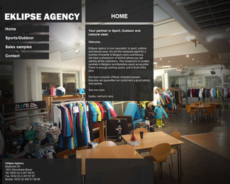 website Eklipse Agency Belgium