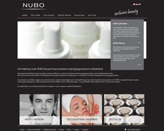 website Nubo beauty