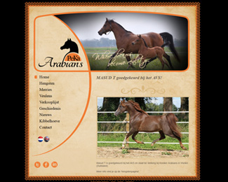 website PeKa Arabians