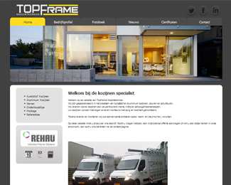 website Topframe Leiderdorp