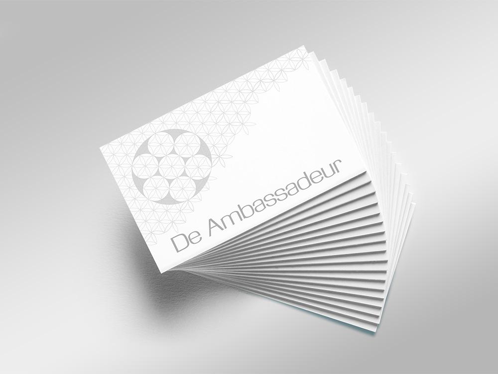 Visitekaartjes De Ambassadeur