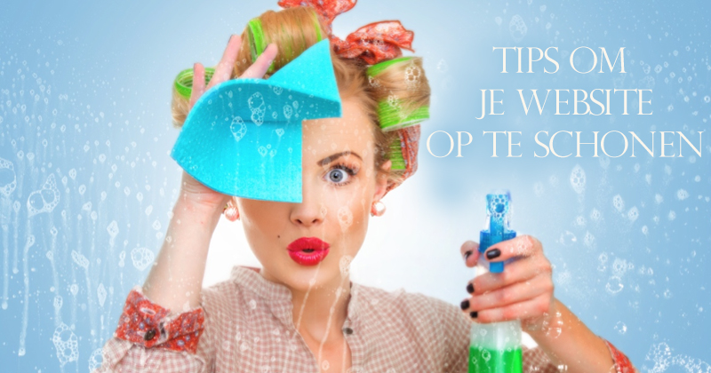 tips om je website op te schonen
