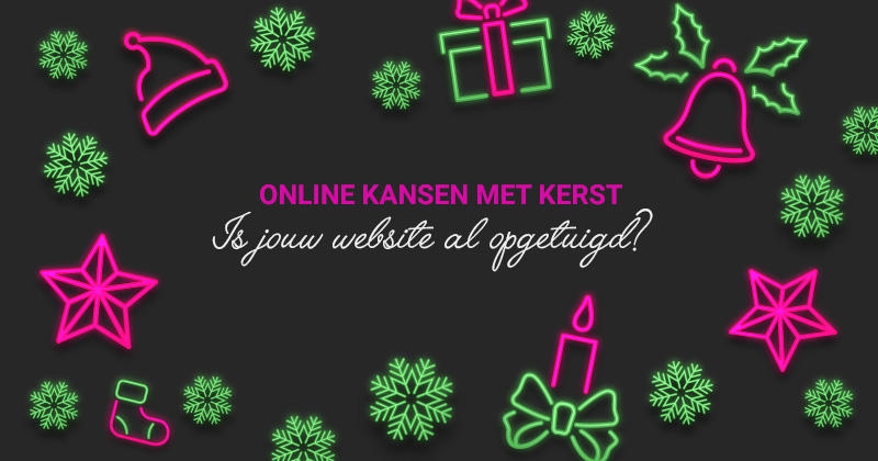 Online kansen met Kerst