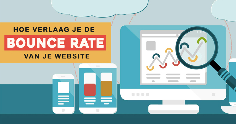 Verlaag de bounce-rate van je website